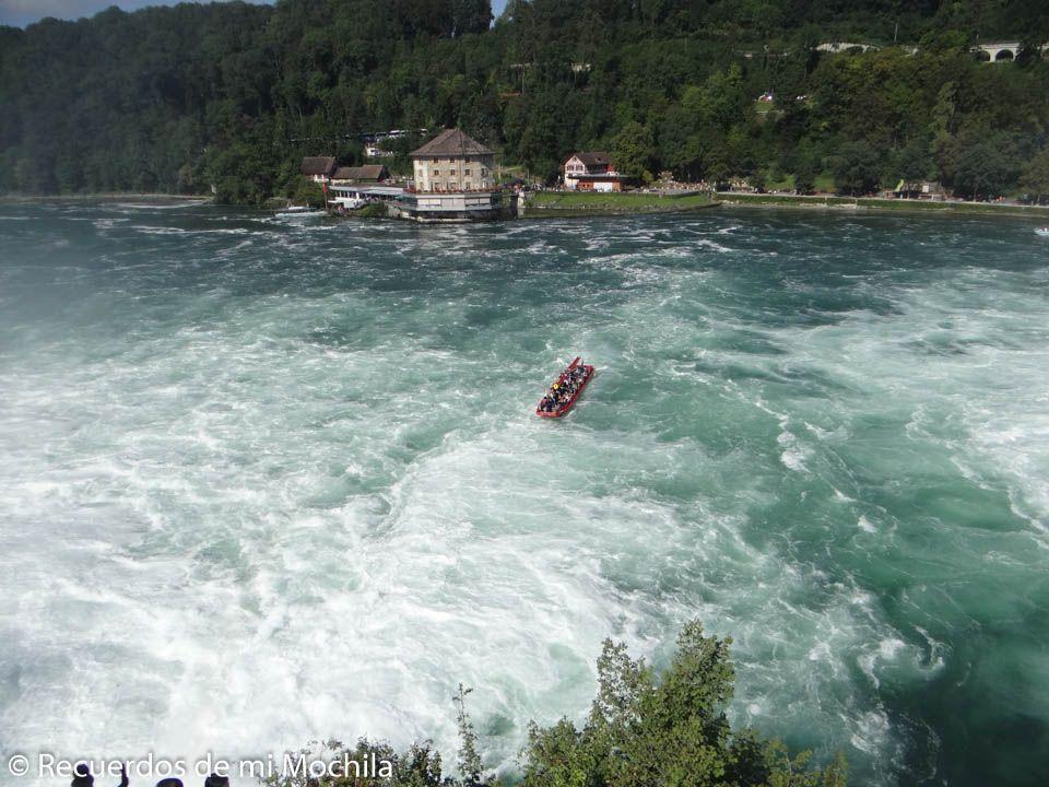 Visita a la catarata del Rin o Rheinfall