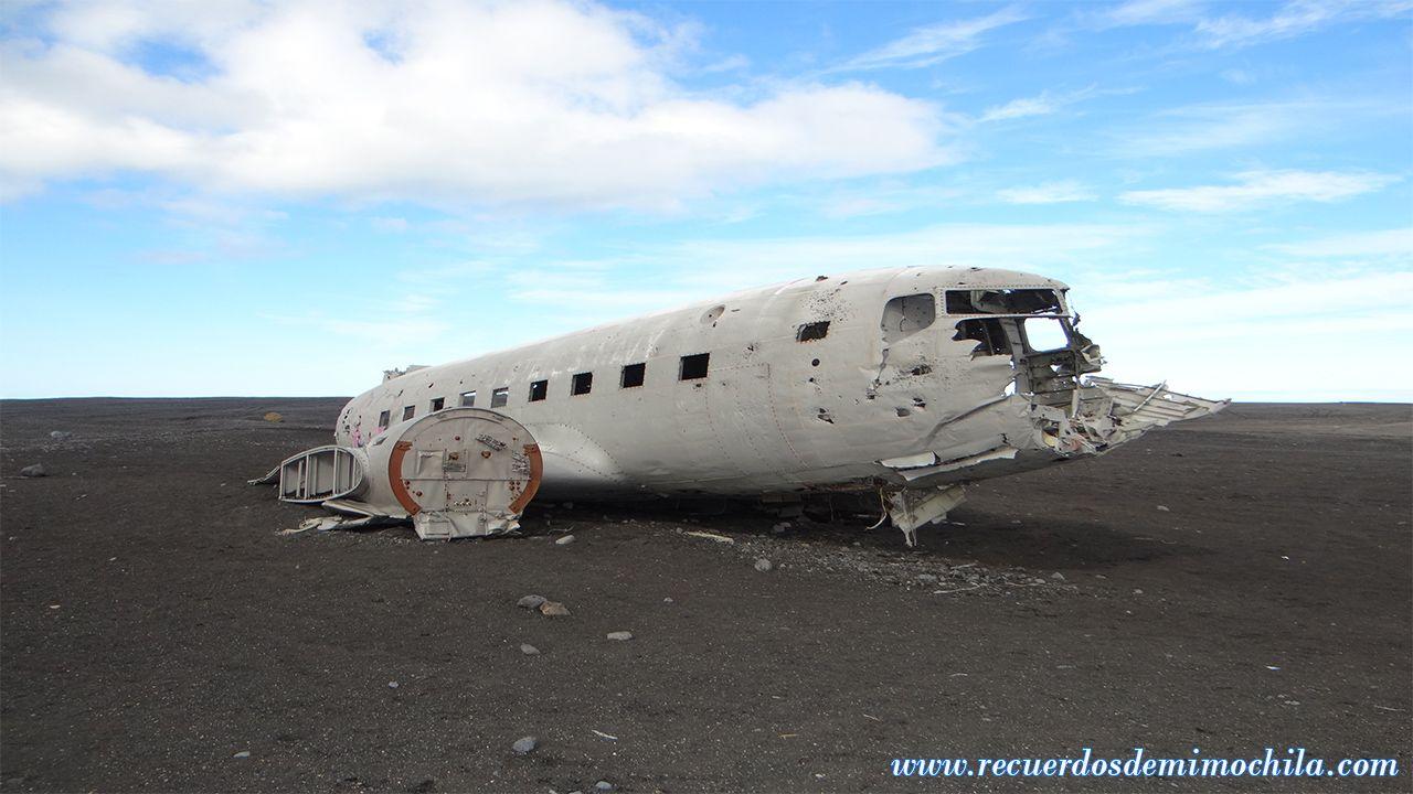 Visita al avión estrellado DC-3, Reynisfjara, Eldhraun y más