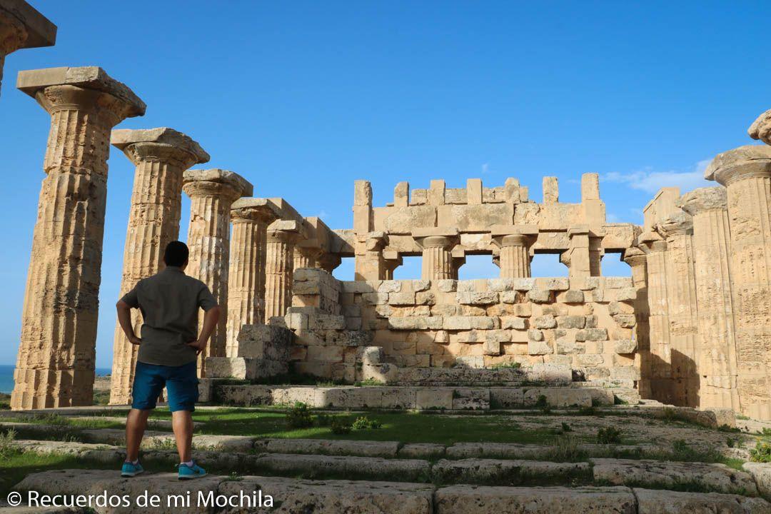 Ruta de templos griegos de Sicilia
