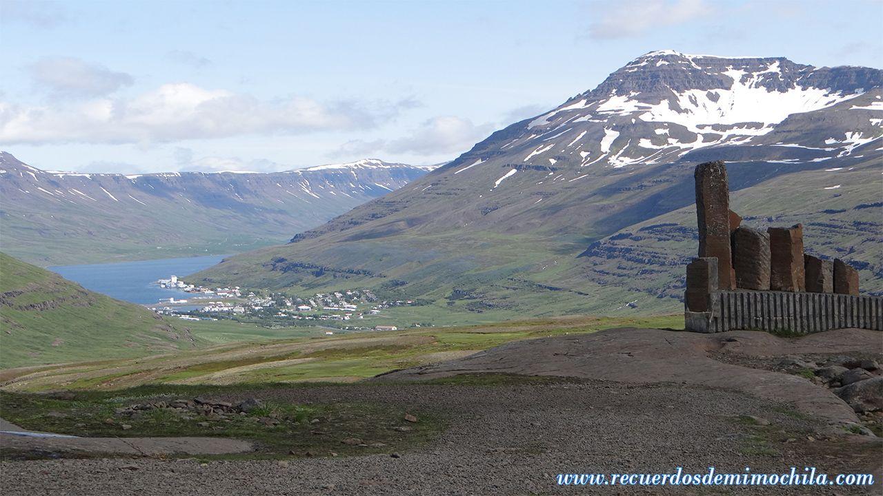 Seyðisfjörður Fiordos del Este Islandia