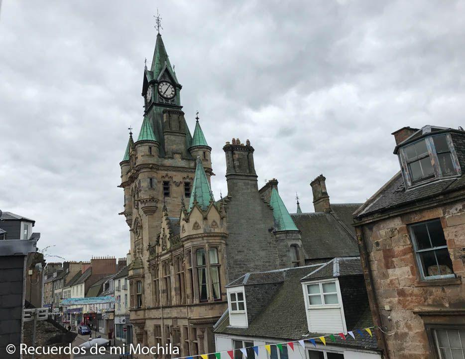 Ciudades y pueblos de Escocia