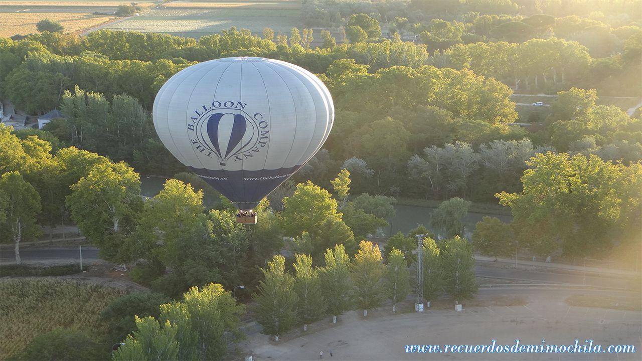 vuelo en globo sobre aranjuez