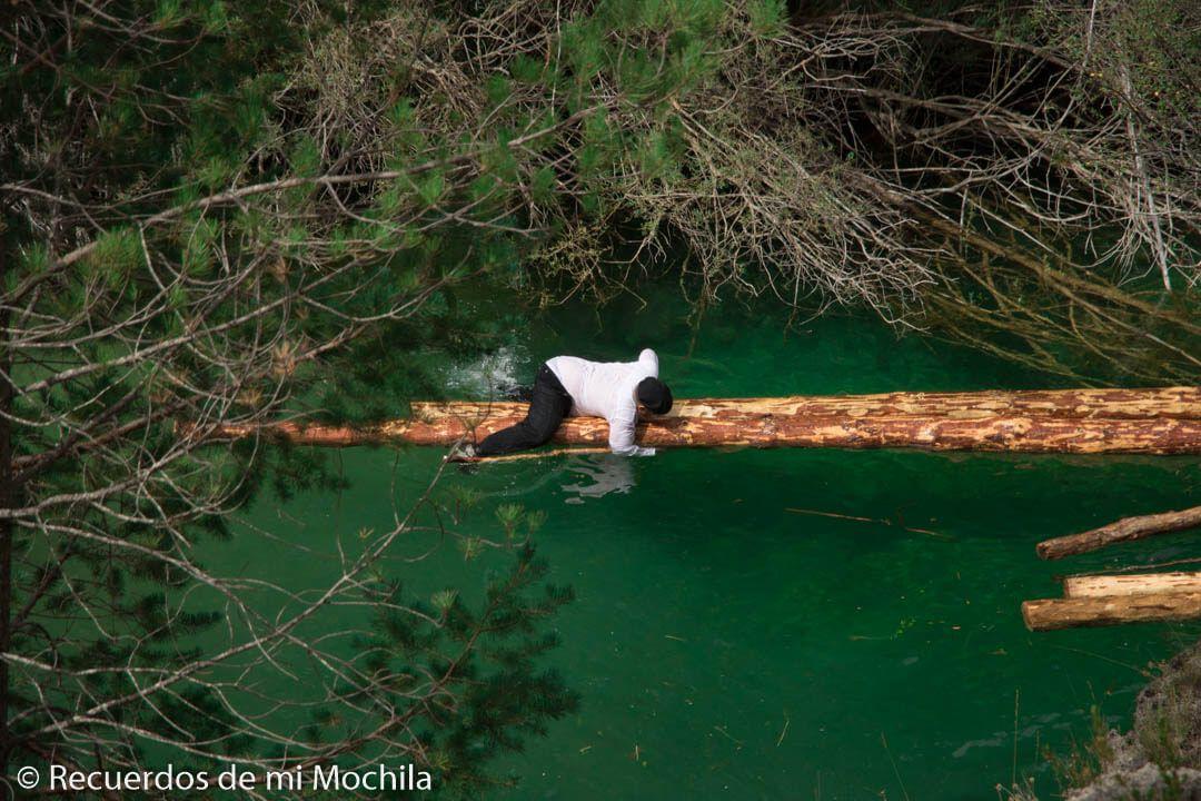 Gancheros del alto Tajo: Los pastores del bosque flotante