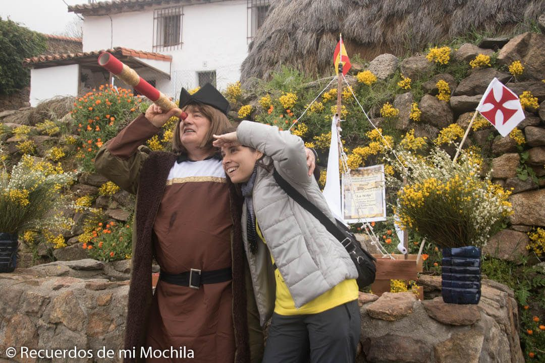Festival del piorno en flor en la Sierra de Gredos