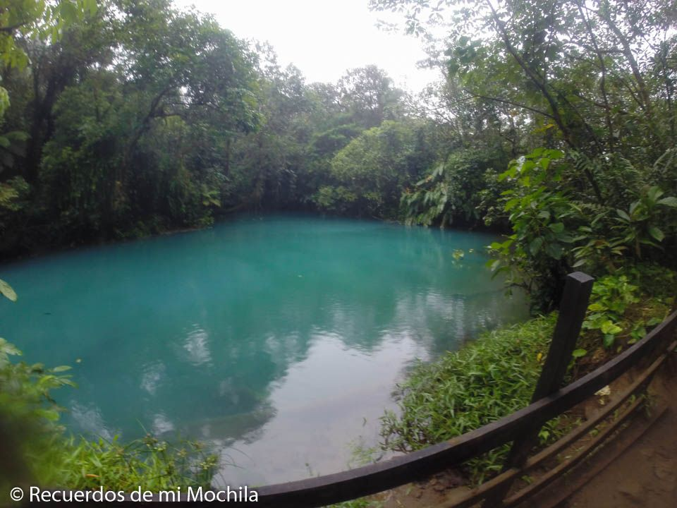visita a río celeste costa rica