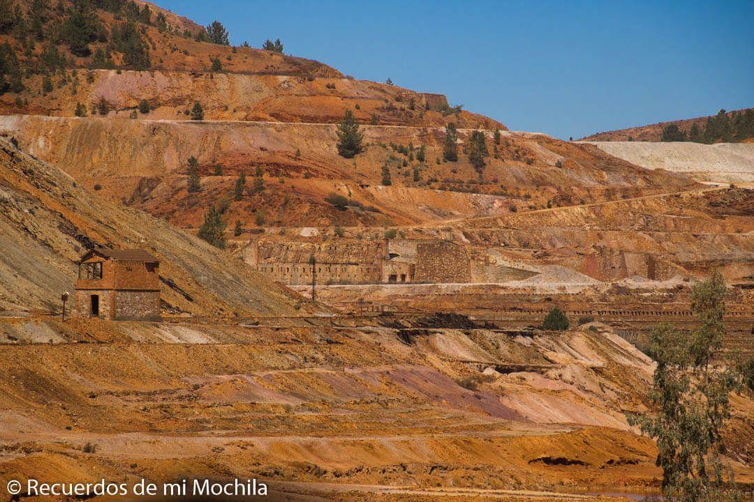 Visita a las minas de Riotinto en Huelva
