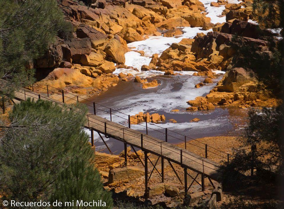 Minas de Riotinto en Huelva