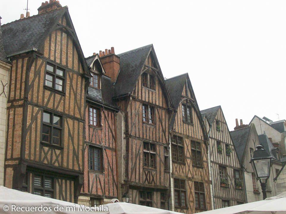 Ciudades y pueblos del Valle del Loira