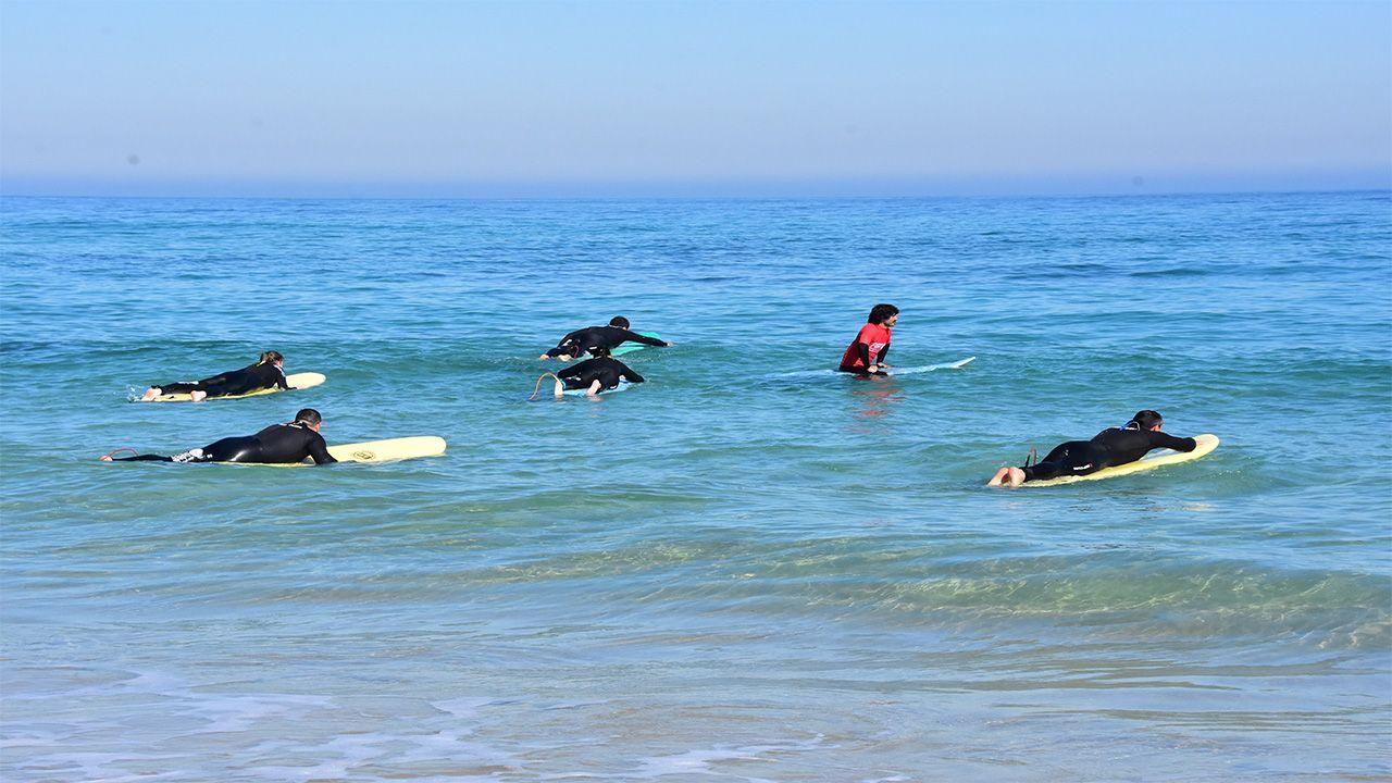 Aprender surf en Galicia