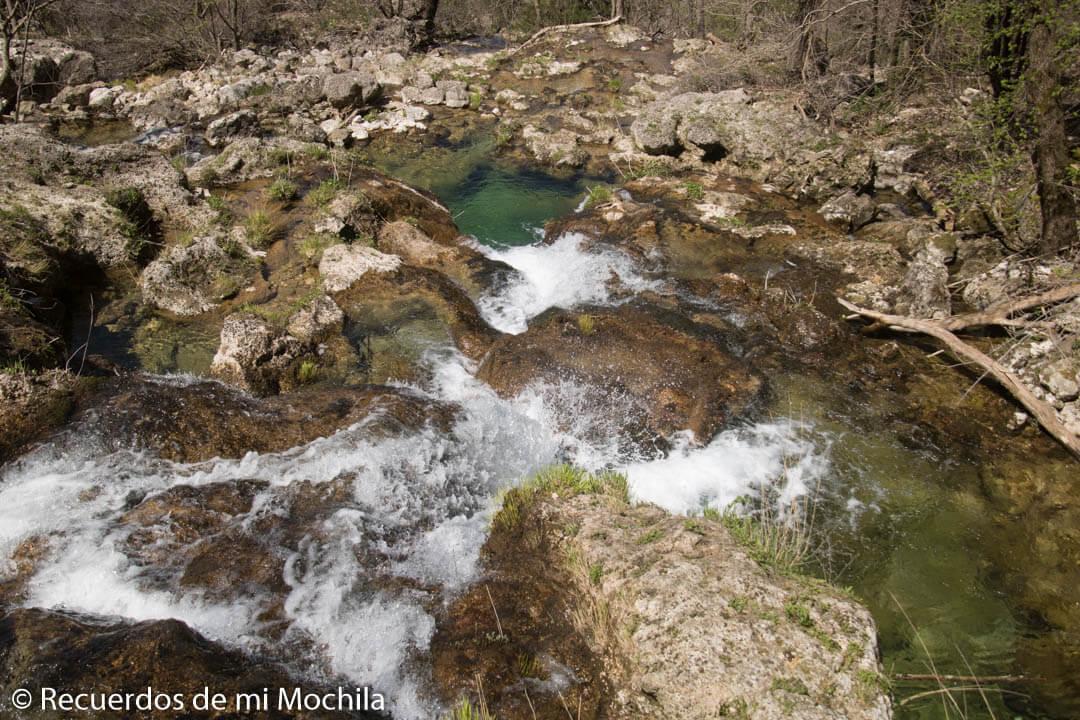 Visita al nacimiento del río Mundo
