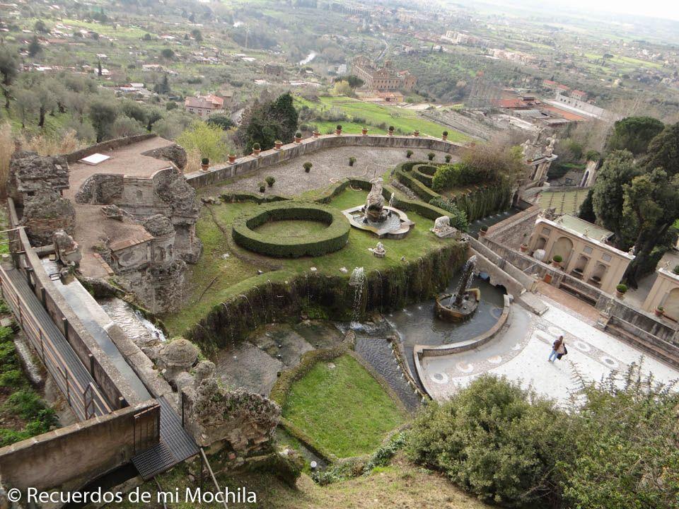 Villa Adriana y villa del Este