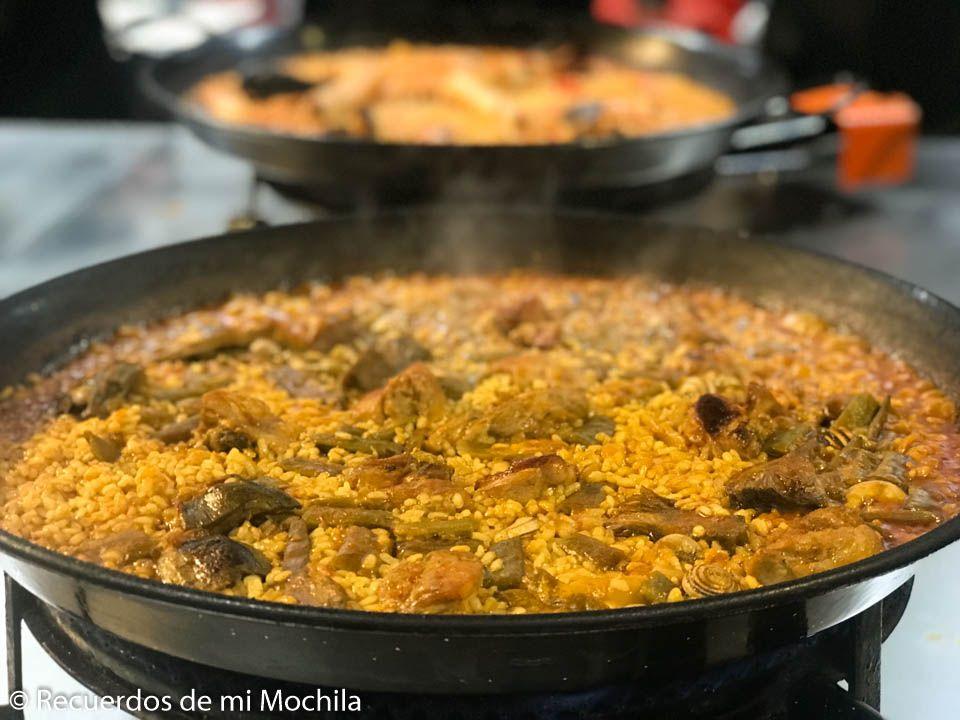 Nuestra experiencia preparando Paella Valenciana