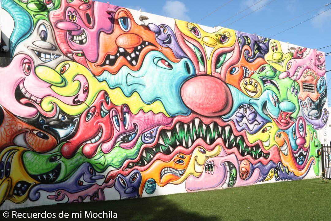 Qué ver en Wynwood Walls, el paraíso del street art