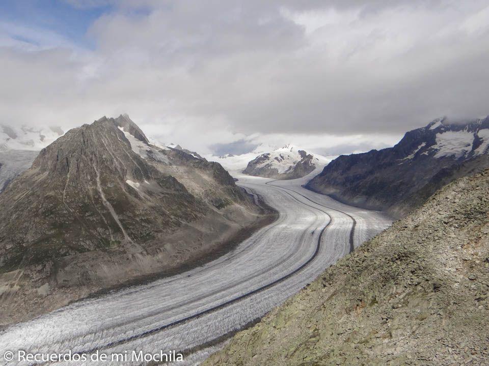 Visita al Glaciar Aletsch