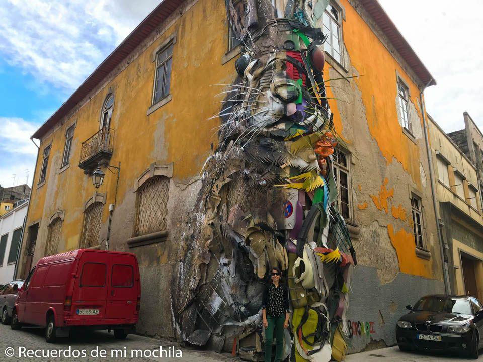 Ruta de street art Oporto