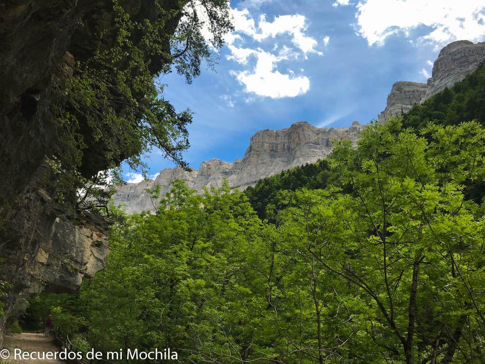 Ruta por el parque Nacional de Ordesa y Monte Perdido