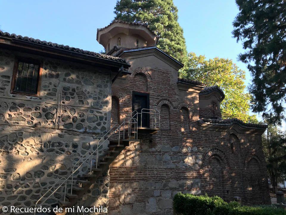 Visita a la iglesia de Boyana