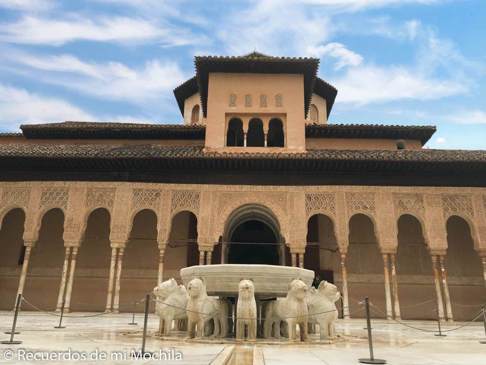 Visita a la Alhambra de Granada y el Generalife