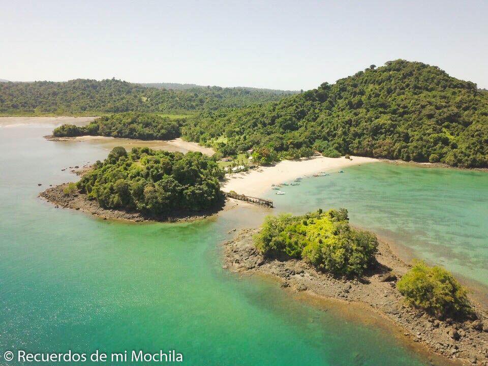 Visita al parque nacional isla Coiba