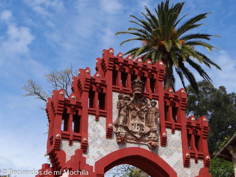 Puerta de la Universidad de Comillas