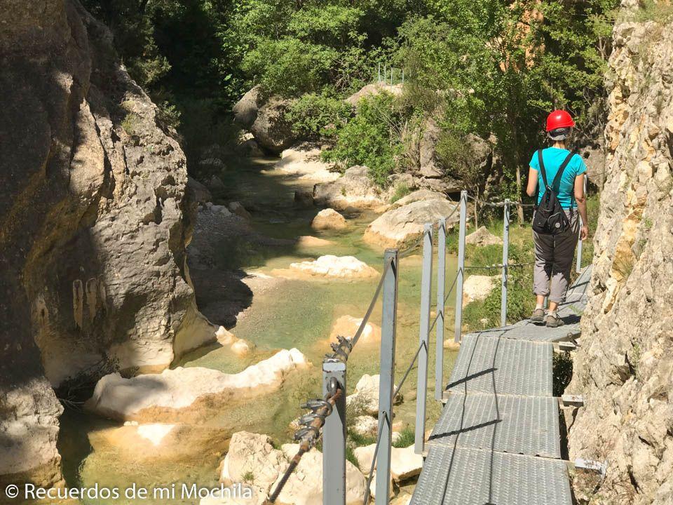 Ruta de las pasarelas del río vero