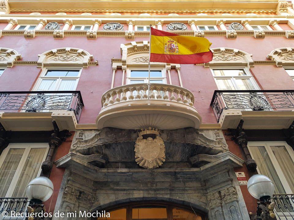Ruta modernista por Cartagena