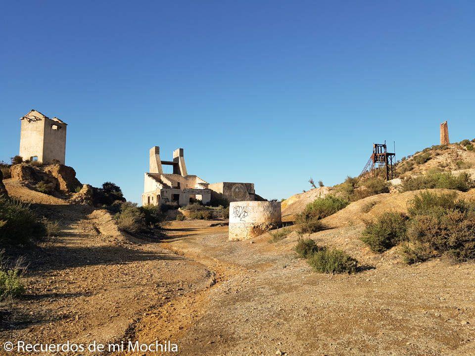 Conjunto San Antonio de Padua cotos mineros de Mazarrón