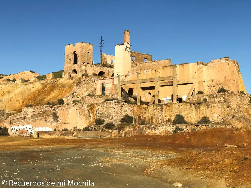 Conjunto San José cotos mineros de Mazarrón