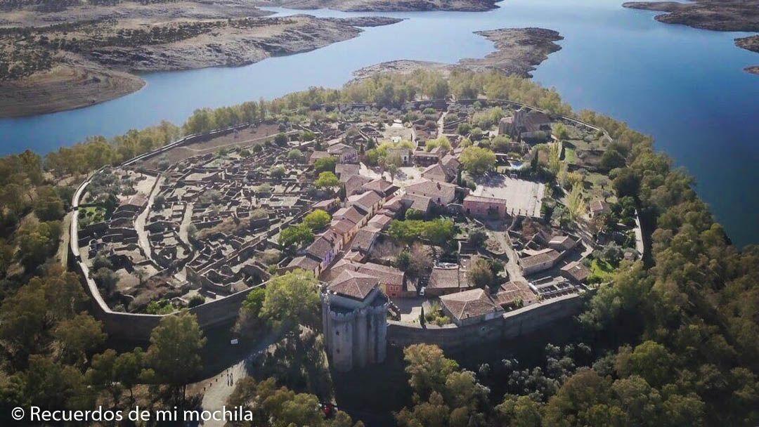 Granadilla, la villa abandonada de Cáceres