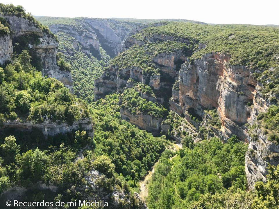 mirador del cañón del río Vero