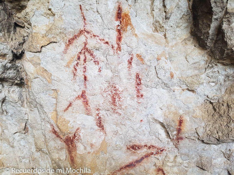 arte rupestre en el río Vero