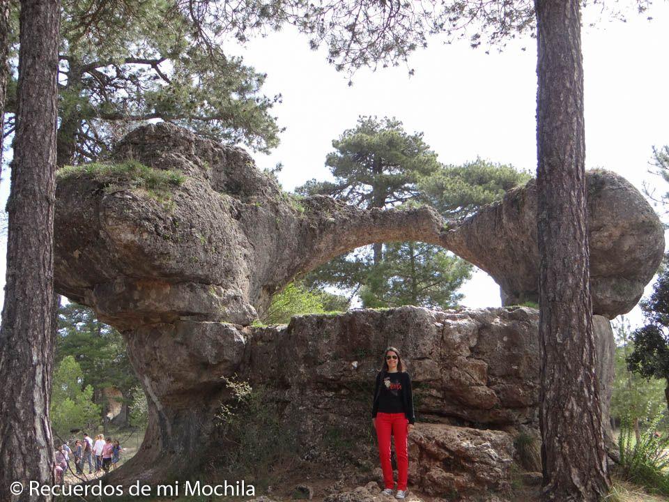 puente de piedra ciudad encantada
