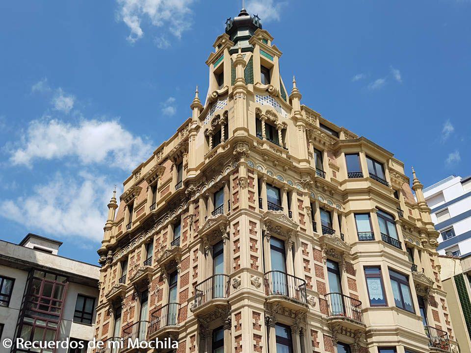 Ruta modernista por Gijón