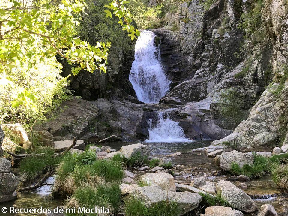 cascada del Purgatorio Rascafría