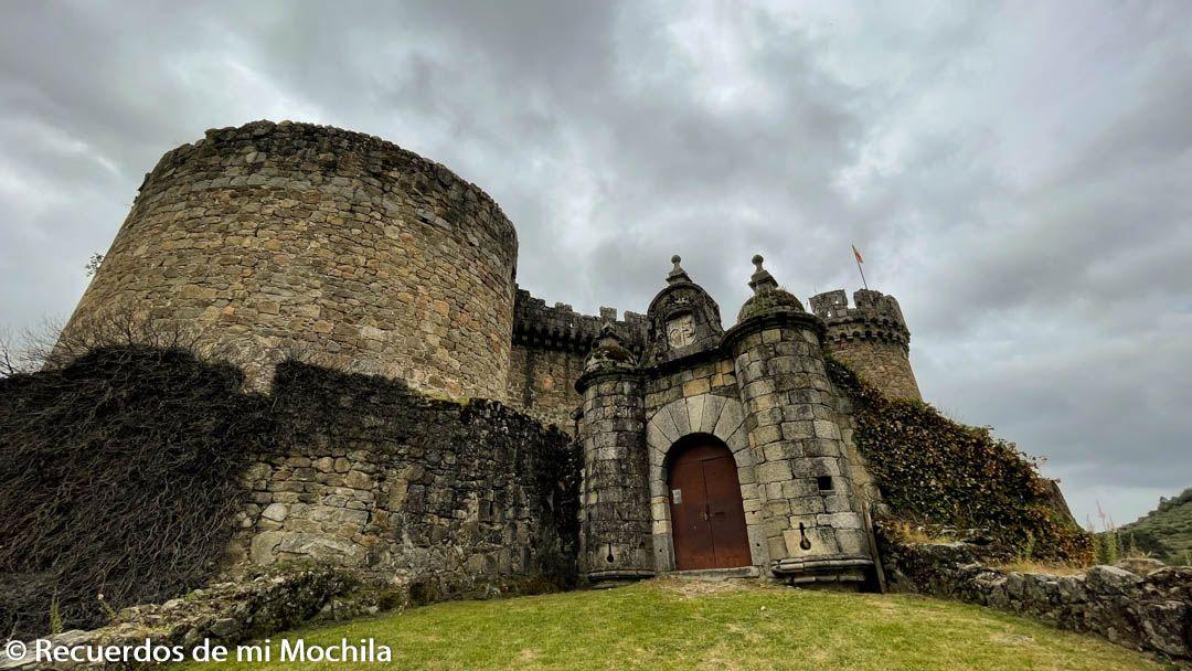 Castillo de los duques de Alburqueruqe en Mombeltrán