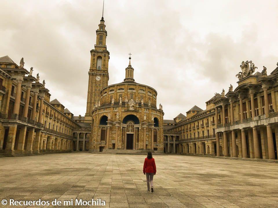 Visita a la Universidad Laboral de Gijón