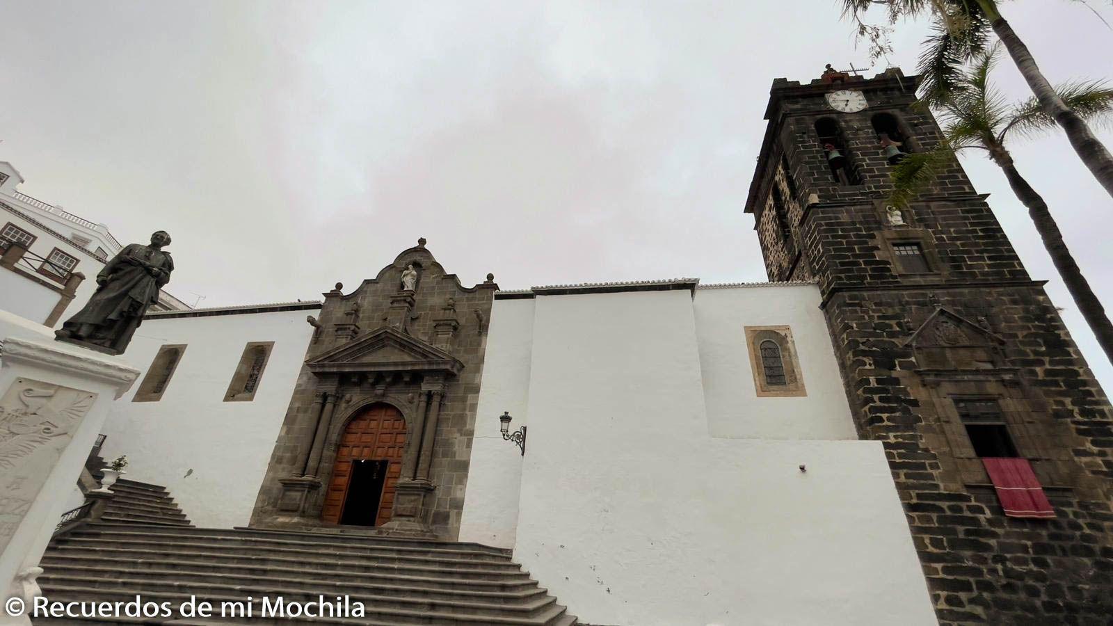Iglesia de El Salvador Santa Cruz de La Palma