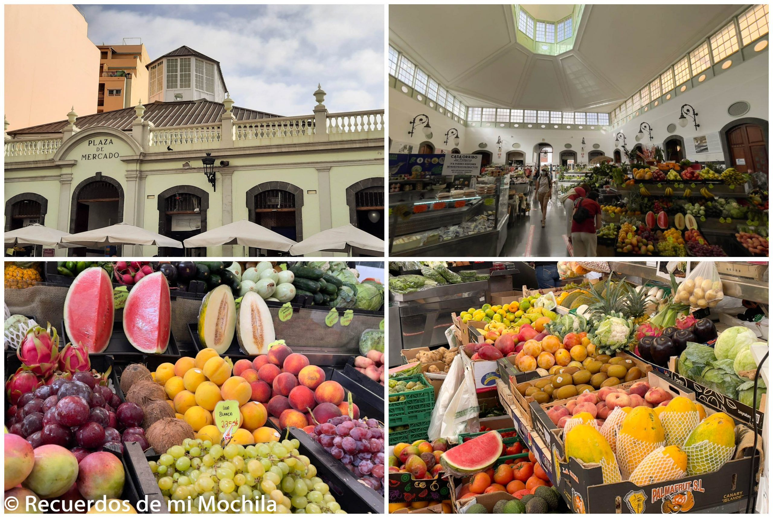 Mercado de la Recova Santa Cruz de La Palma